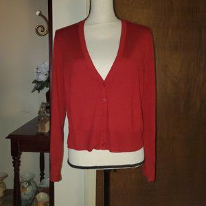 NWT Torrid red crop sweater sz 1